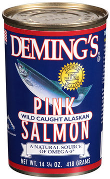 Deming's® Pink Wild Caught Alaskan Salmon 14 3/4 oz Can