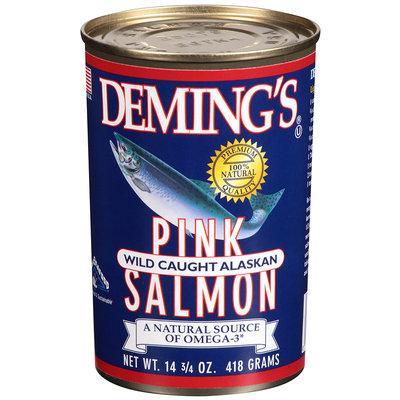 Deming's® Pink Wild Caught Alaskan Salmon 14 3/4 oz Can