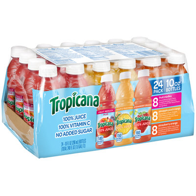 Tropicana® Variety Pack Juice 24 - 10 fl. oz. Plastic Bottles