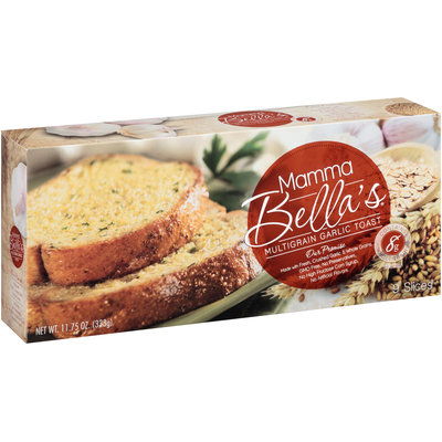 Mamma Bella's® Multigrain Garlic Toast 11.75 oz. Box