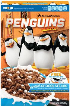 DreamWorks Penguins of Madagascar Operation Chocolate Mix™ Cereal 14.5 oz. Box