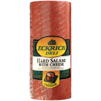 Eckrich Deli® Hard Salami with Cheese