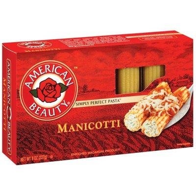 American Beauty  Manicotti 8 Oz Box
