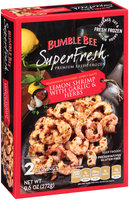 Bumble Bee SuperFresh® Lemon Shrimp with Garlic & Herbs 9.6 oz. Box