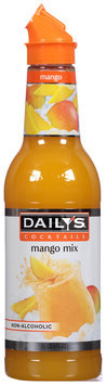Daily's® Cocktails Non-Alcoholic Mango Mix 33.8 fl. oz. Bottle