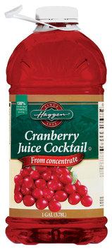 Haggen Juice Cocktail Cranberry  1 Gal Plastic Bottle