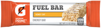 Gatorade Prime® Honey Oat Fuel Bar Energy Bar 2.1 oz Wrapper