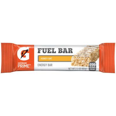Gatorade Prime® Honey Oat Fuel Bar Energy Bar 2.1 oz Wrapper