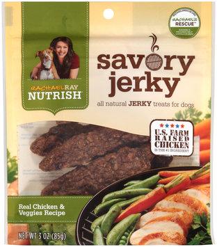 Nutrish Savory Jerky Real Chicken & Veggies Recipe Dog Treats