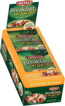 Emerald® Breakfast on the Go!™ Breakfast Nut Blend Nut & Granola Mix 8-1.5 oz. Bags