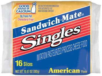 Sandwich-Mate® American Flavor Imitation Pasteurized Process Cheese Food