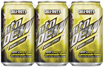 Mountain Dew® Game Fuel® Lemonade 6 Pack 12 fl. oz. Cans
