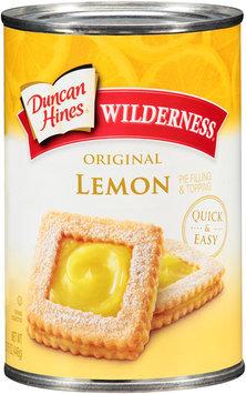 Duncan Hines® Wilderness® Original Lemon Pie Filling & Topping 15.75 oz. Can