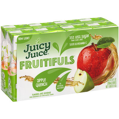 Juicy Juice® Fruitifuls™ Apple Quench Flavored Juice Beverage 8-6.75 fl. oz. Boxes