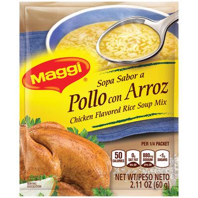 MAGGI Chicken Flavor Rice Soup Mix 2.11 oz. Packet