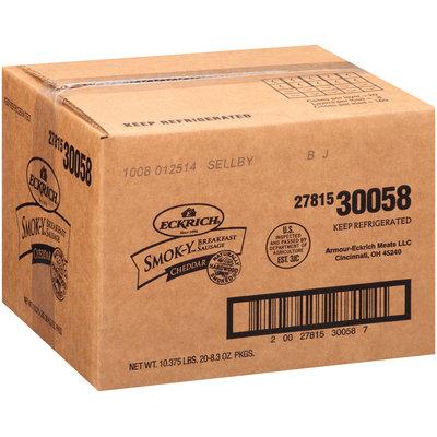 Eckrich® Smok-Y Cheddar Breakfast Sausage 8.3 oz. Package