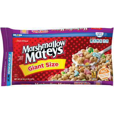 Malt-O-Meal® Marshmallow Mateys® Cereal 32 oz. ZIP-PAK