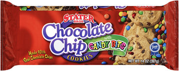 Stater Bros.® Chocolate Chip Cookies with Candy Bits 14 oz