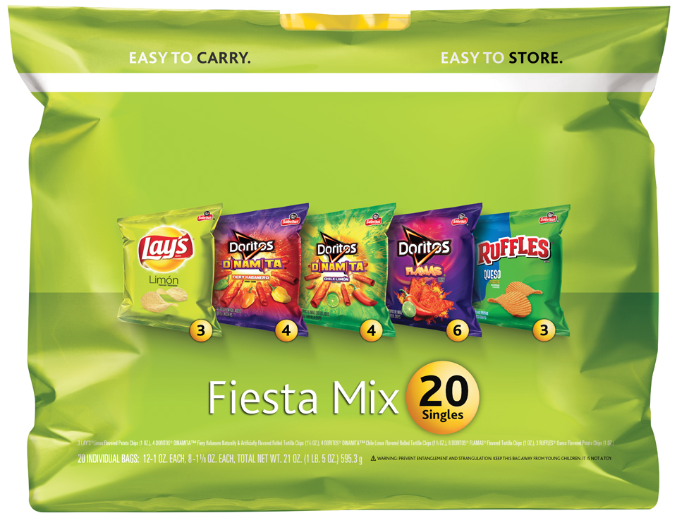 Fiesta Mix Snack Variety Pack 20 ct Pack