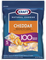 Kraft 100 Calorie Packs Cheddar Cheese Bites 5 Ct Peg