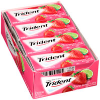 Trident Island Berry Lime Sugar Free Gum with Xylitol 12-18 Stick Packs