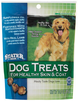 Stater Bros. For Healthy Skin & Coat Dog Treats 10 Oz Peg