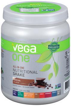 Vega™ One Mocha Nutritional Shake Drink Mix 14.8 oz. Canister