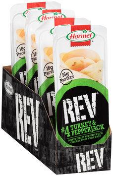 Hormel® Rev® #4 Turkey & Pepper Jack Snack Wrap 2.7 oz. Tray