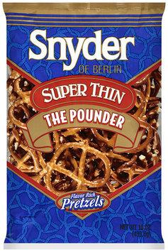 Snyder® of Berlin Pretzels Super Thin 16 oz BAG
