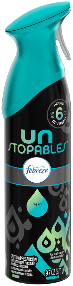 Febreze Unstopables™ Fresh Air Refresher 9.7 oz. Aerosol Can