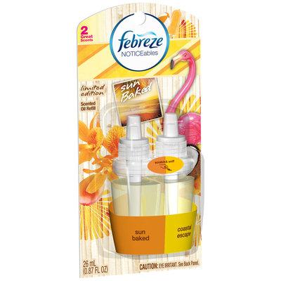 Noticeables Febreze NOTICEables Sun Baked Air Freshener (1 count; 0.879 Fl Oz each)