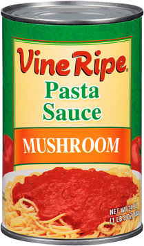 Vine Ripe® Mushroom Pasta Sauce 24 oz. Can
