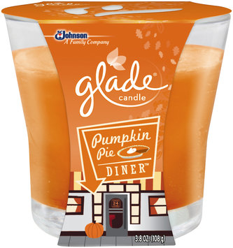 Glade® Pumpkin Pie Diner™ Candle 3.8 oz. Sleeve