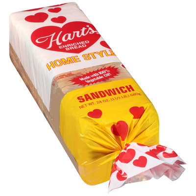 Hart's® Home Style Enriched Sandwich Bread 24 oz. Loaf