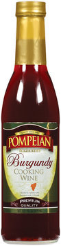 Pompeian Burgundy Imported Cooking Wine 12.7 Oz Glass Bottle