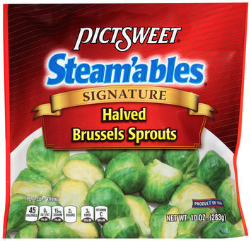 Pictsweet® Steam'ables® Signature Halved Brussels Sprouts 10 oz. Package