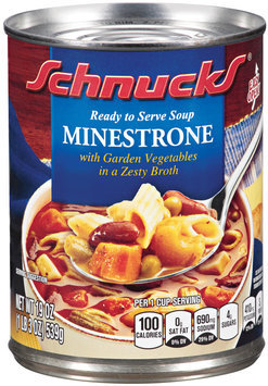 Schnucks® Ready to Serve Soup Minestrone 19 oz.