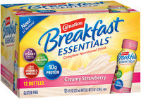 Carnation Breakfast Essentials® Creamy Strawberry Complete Nutritional Drink