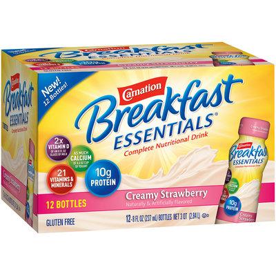 Carnation Breakfast Essentials Creamy Strawberry Complete Nutritional Drink