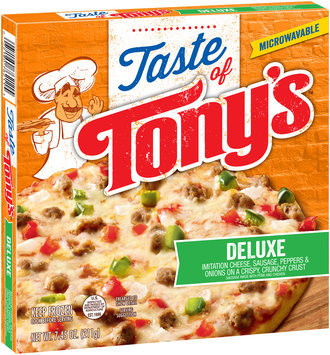 Taste of Tony's™ Deluxe Pizza 7.45 oz. Box