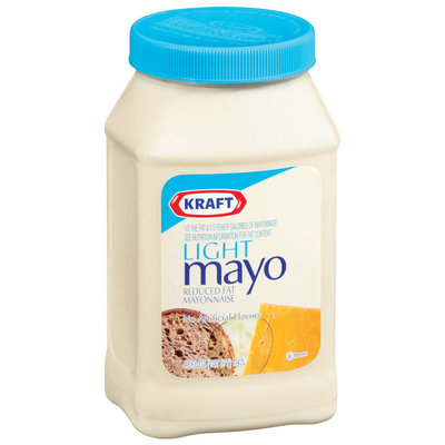 Kraft Mayo Light Mayo Mayonnaise 48 Fl Oz Plastic Jar