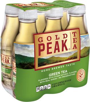 Gold Peak® Green Tea Iced Tea 6-16.9 fl. oz. Plastic Bottles