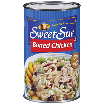 Sweet Sue Boned Chicken 50 Oz Can