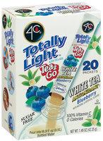 4C Itm-Tl Tea2go White (Blueberry) Itm-Stix 20 Ct Box