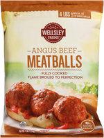 Wellsley Farms™ Angus Beef Meatballs 4 lb. Bag