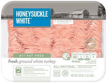 Honeysuckle White® 97% Fat Free Fresh Ground White Turkey 20 oz. Tray