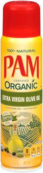 PAM® Extra Virgin Olive Oil Organic Cooking Spray 7 oz. Aerosol Can