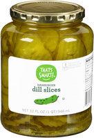 That's Smart!™ Hamburger Dill Slices 32 fl. oz. Jar