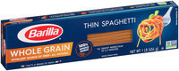Barilla® Pasta Whole Grain Thin Spaghetti 1 lb. Box
