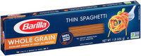 Barilla® Pasta Whole Grain Thin Spaghetti 1 lb. Box